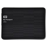 WD My Passport Ultra 1TB USB 3.0 [WDBZFP0010BBK-PESN] - Black - Hard Disk External 2.5 inch
